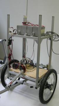 Image of the project Balancing robots: Tilty, TiltOne