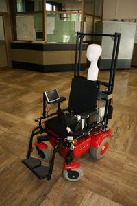Image of the project LURCH - The autonomous wheelchair
